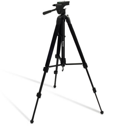 """iGadgitz 150cm (59"""") Extendable 2 in 1 Combined Aluminium Tripod and Monopod Stand for Camera and Camcorders ? Black Thumbnail 6"""